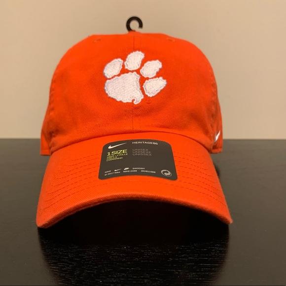 NWT! Nike Clemson Tigers dad hat